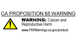 More info:  www.P65Warnings.ca.gov/product