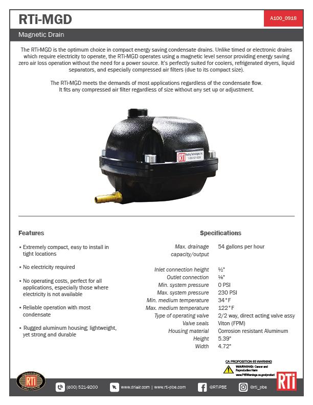 A100 RTi-MGD