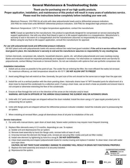Service Sheets — Reading Technologies, Inc
