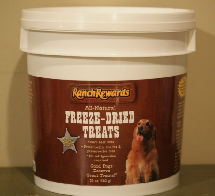 Ranch Rewards 24 oz tubs from Pet Edge (online)