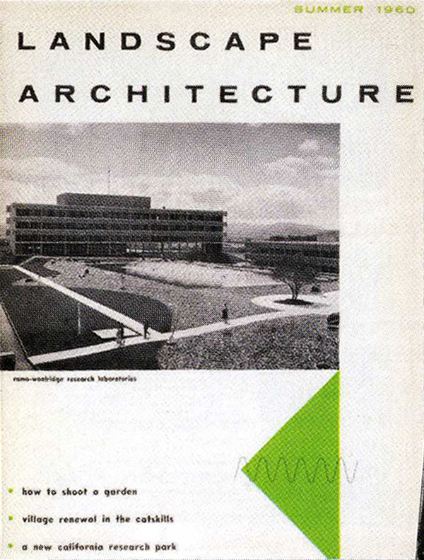 Landscape Architecture  , Summer 1960   © American Society of Landscape Architects