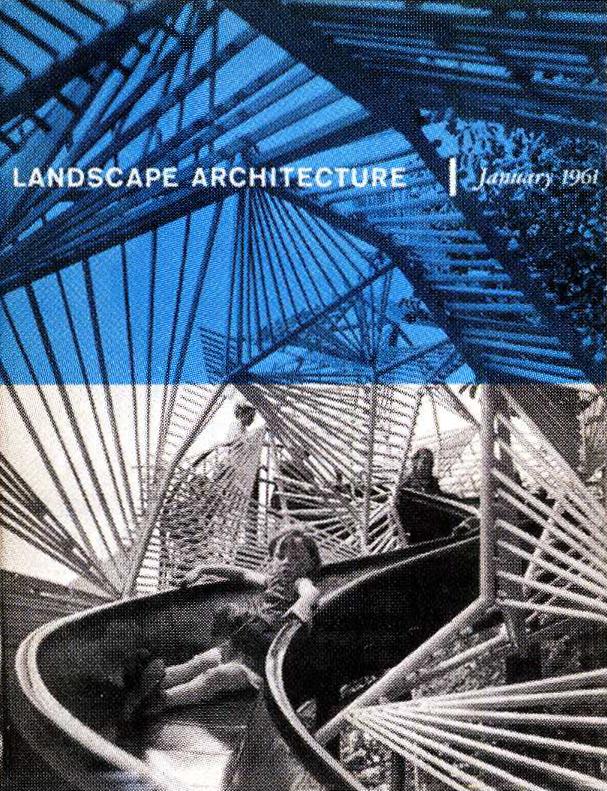 Landscape Architecture  , January 1961  © American Society of Landscape Architects