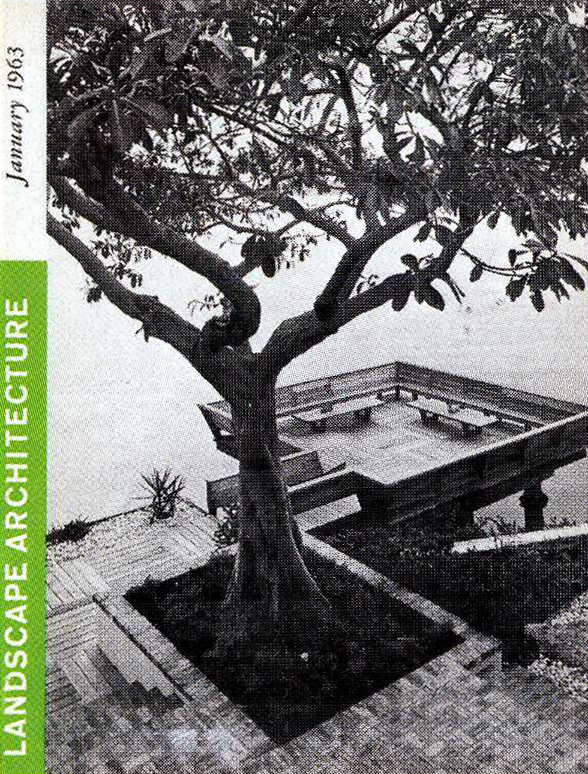 Landscape Architecture  , January 1963   © American Society of Landscape Architects