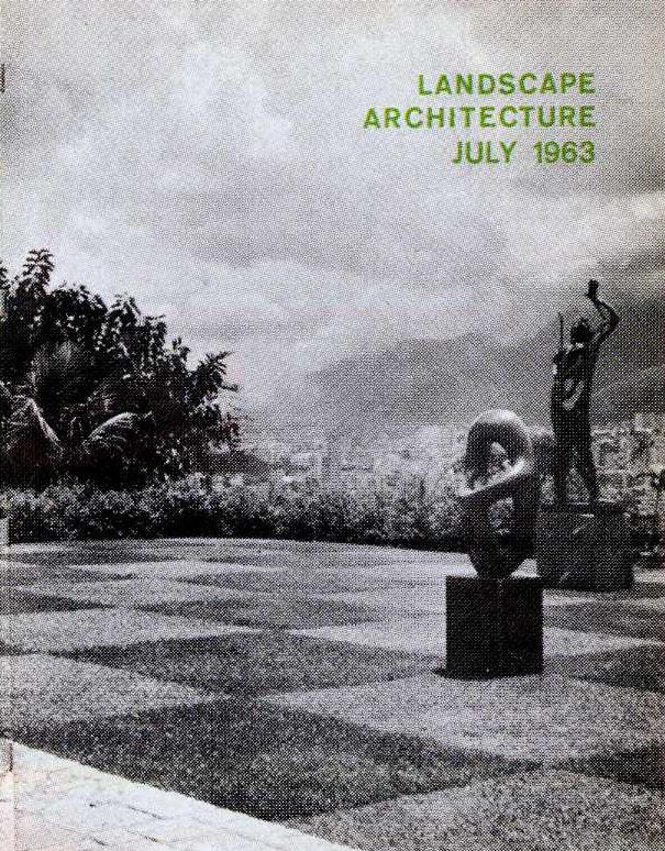 Landscape Architecture  , July 1963  © American Society of Landscape Architects