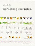 Envisioning Information     Edward R. Tufte + Library  + BWB  + Amazon  + Publisher