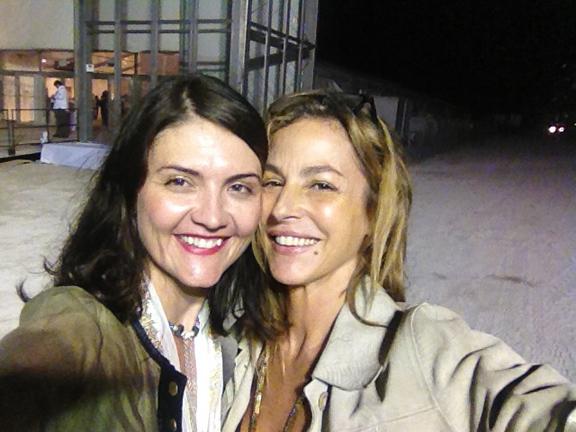 Art Partners Katherine Blackburne and Lena Viddo (Heliotrope Collective)