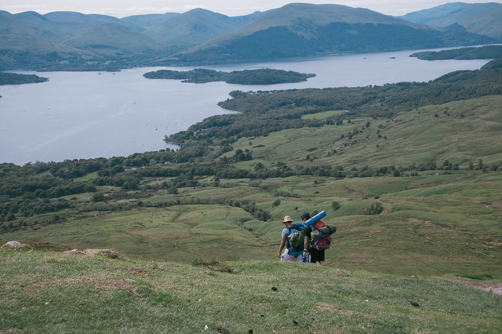 Conic Hill is a part of the world's famous West Highland Way.