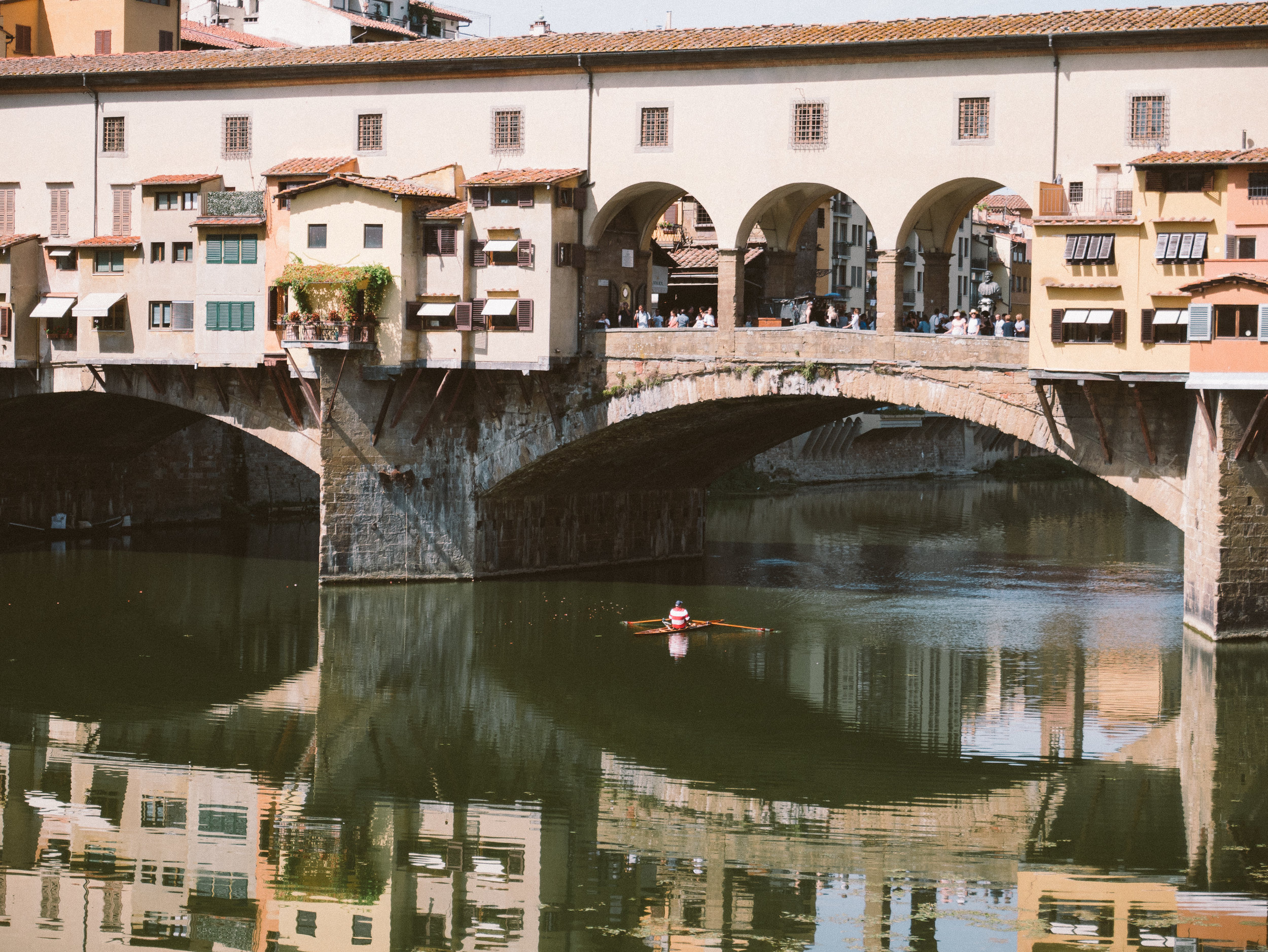 Ponte Vecchio Bridge is the all time favourite