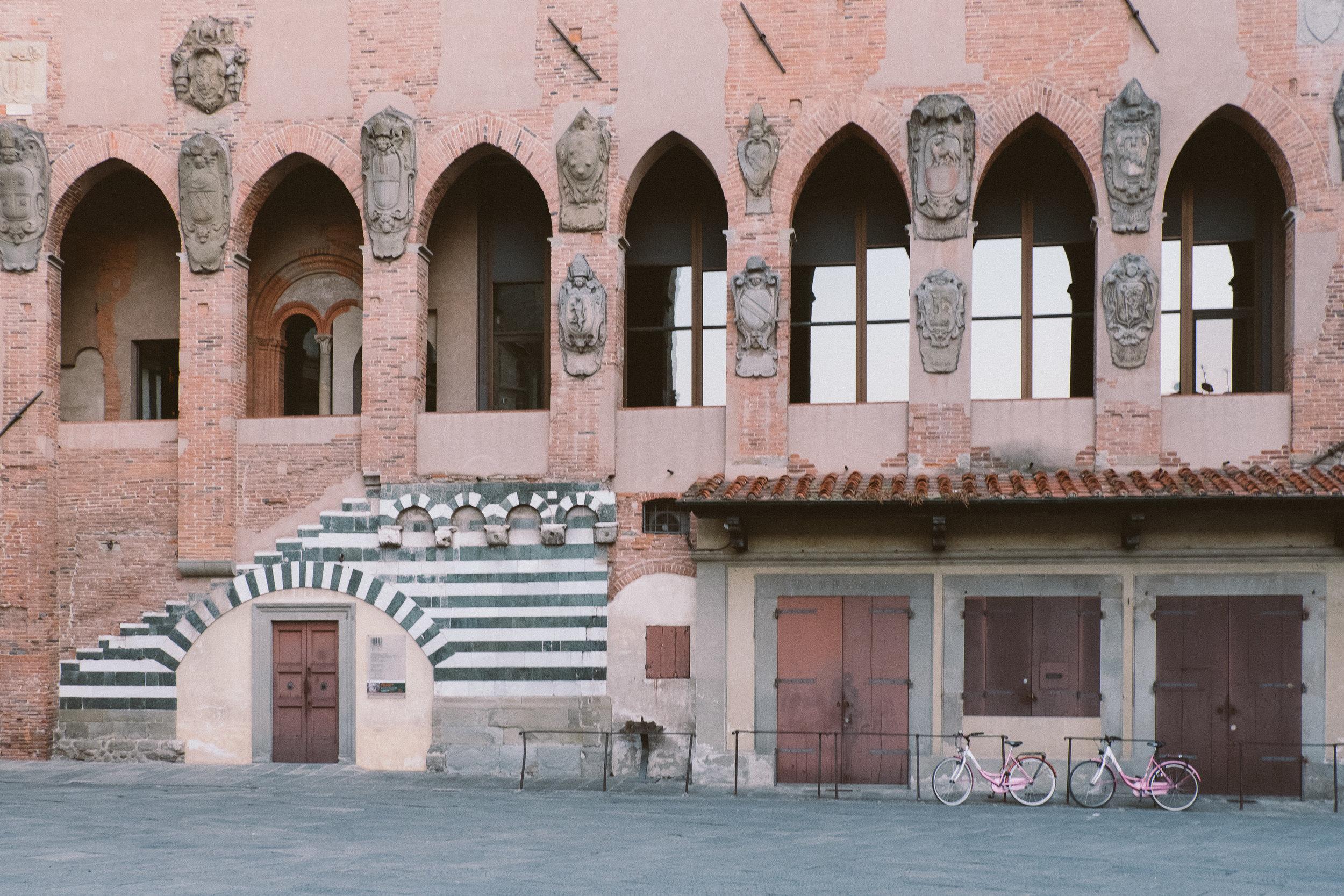 Pallazio dei Vescovi was built in 14th century