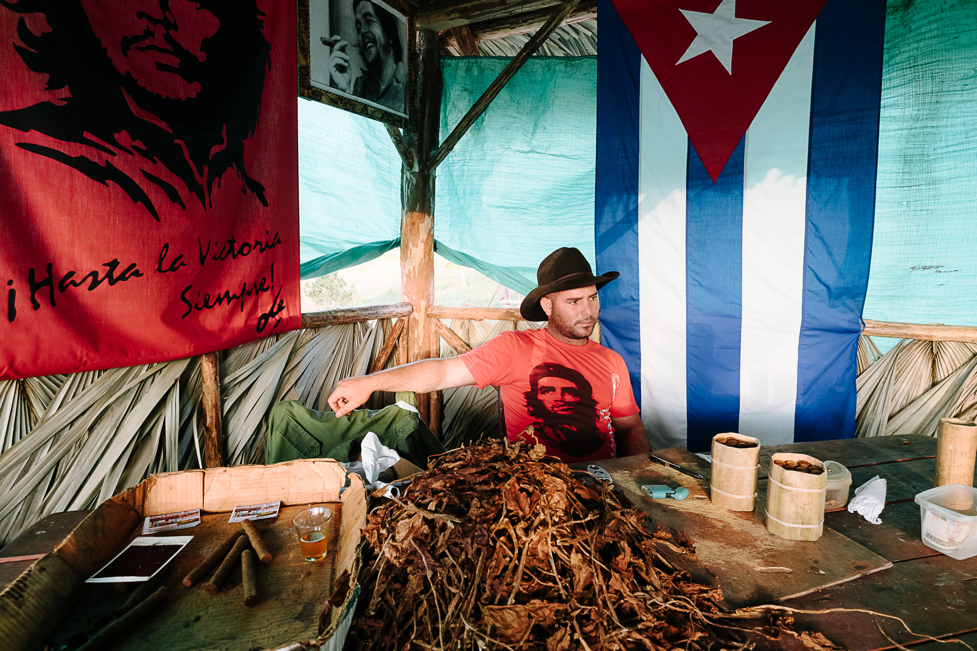Local farmer shares the process of making the authentic Cuban cigar