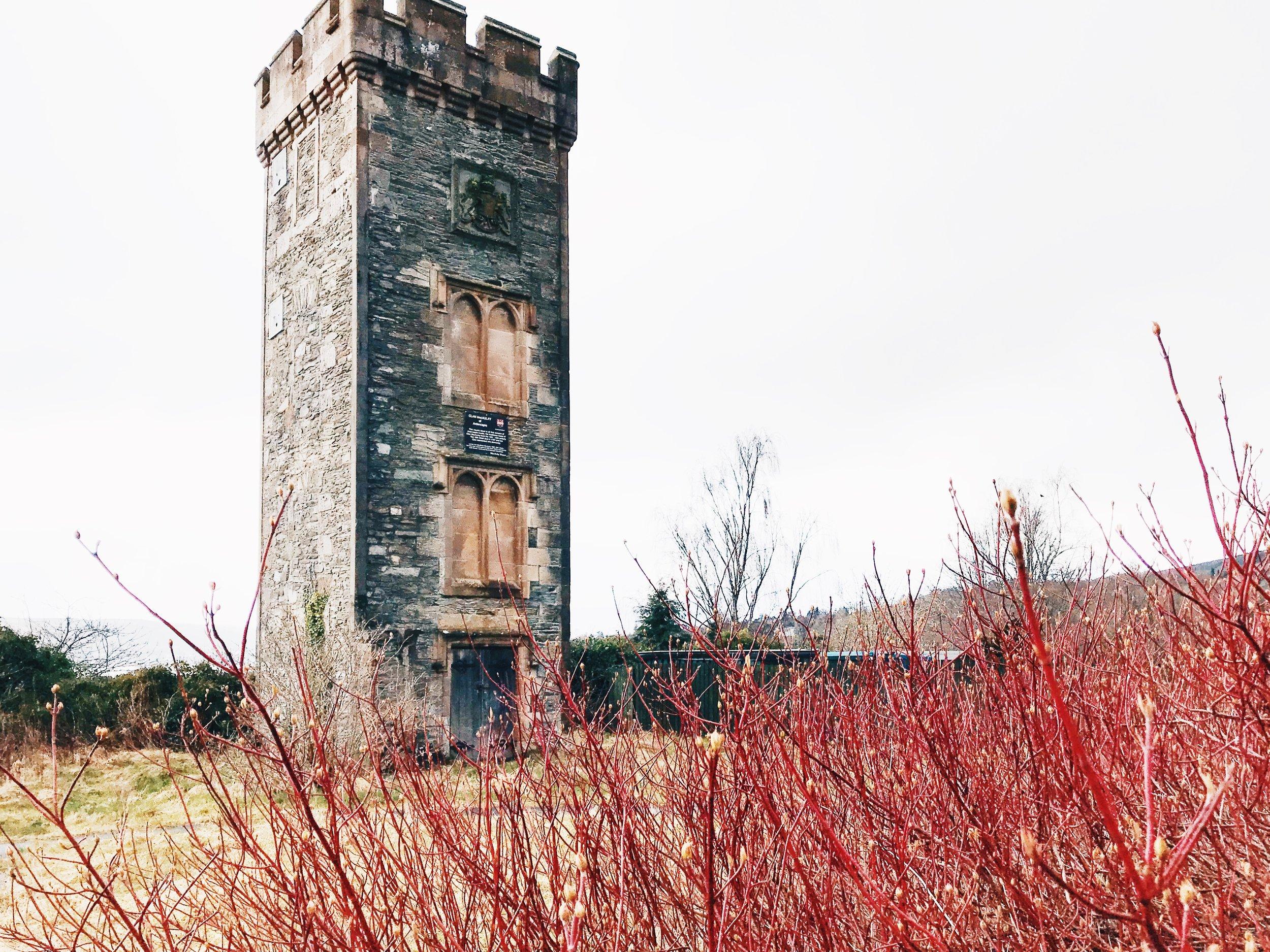 [6] Ardencaple Castle Light is Grade B listed building