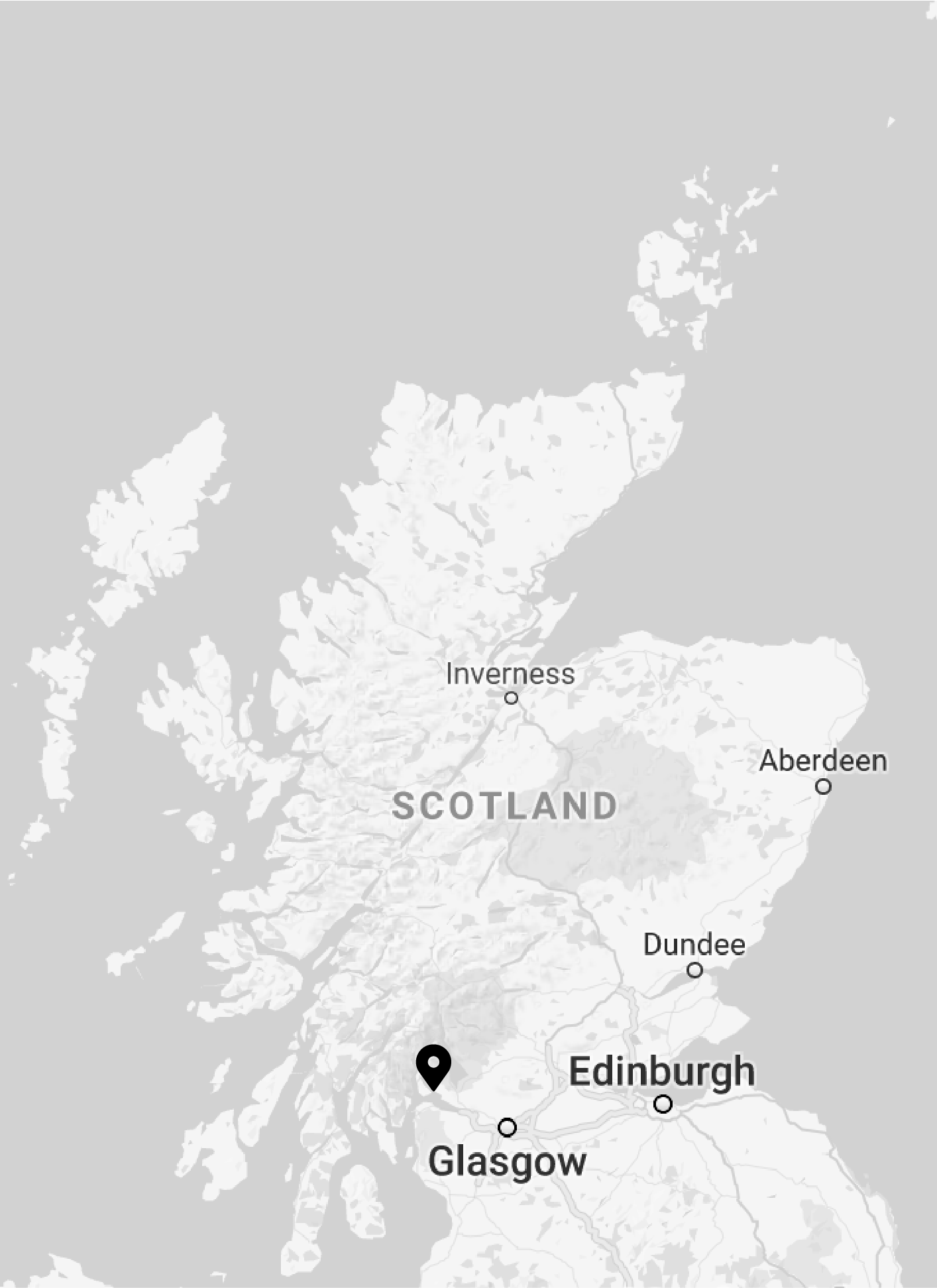 Helensburgh is 45 min from Glasgow