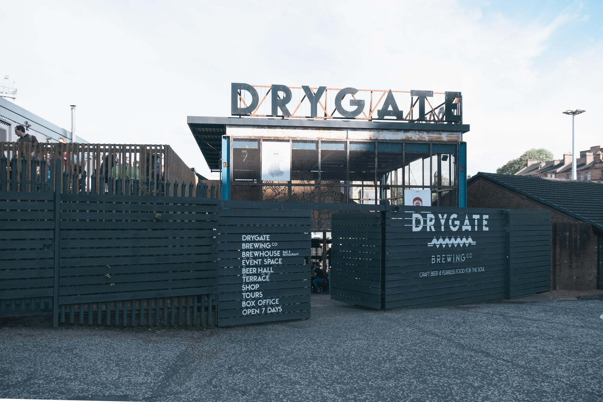 Drygate is the last stop on the guide