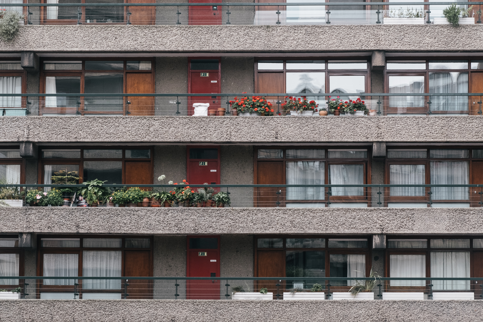 Barbican is not only the biggest art centre, but also a large residential estate