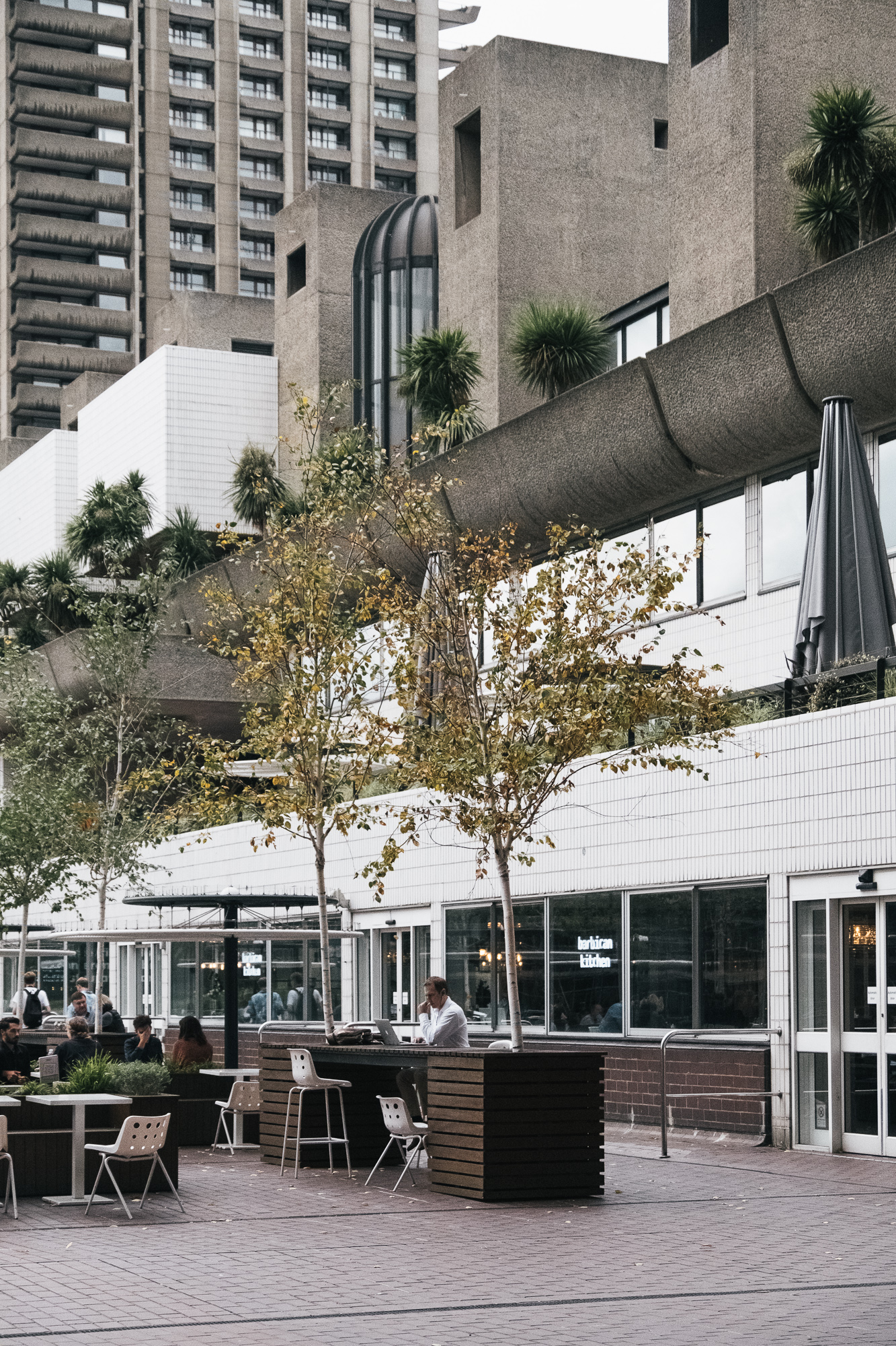 Barbican kitchen takes care of the coffee and lunch cravings