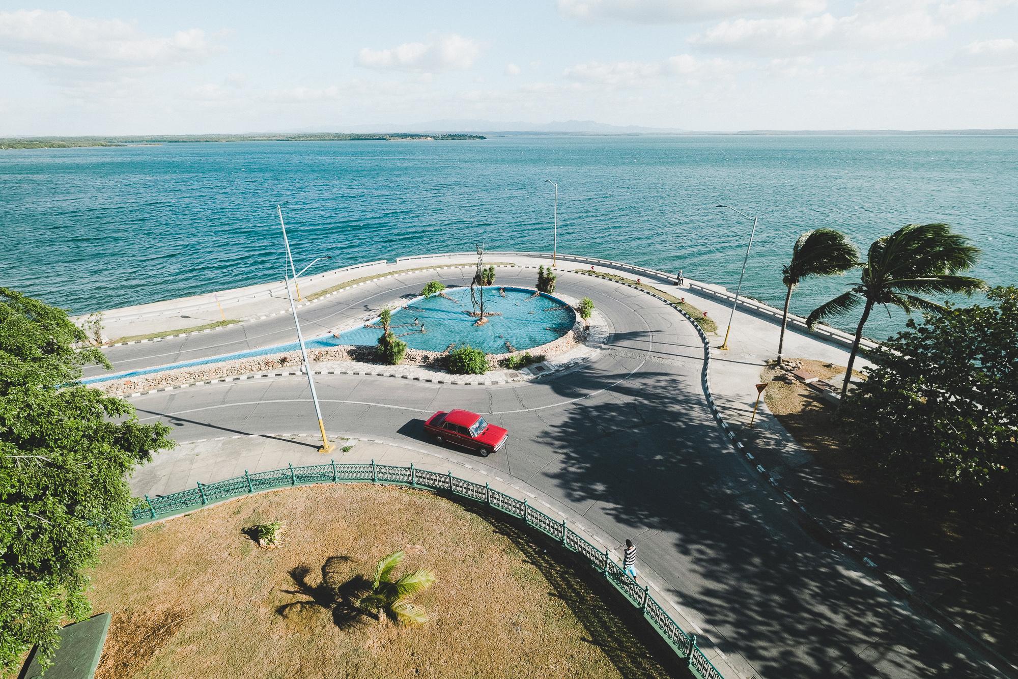 The views across the sea at Palacio de Valle
