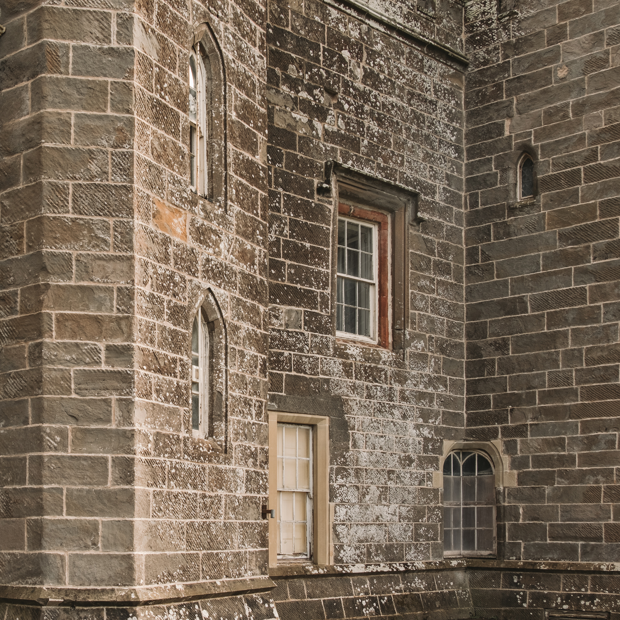 The odd arrangement of the odd windows