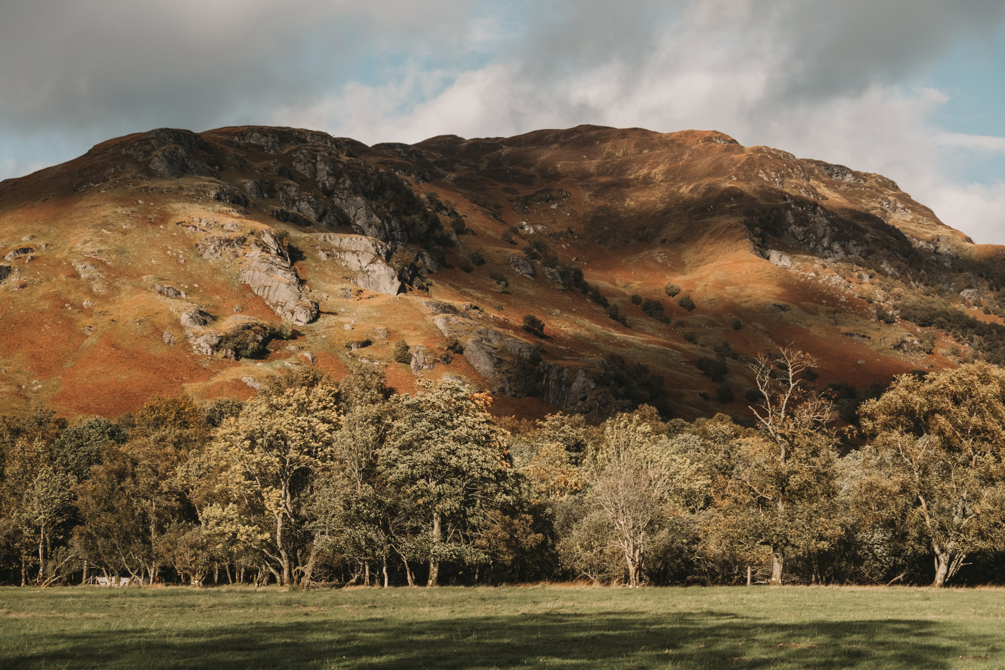 The installation is located in the scenic location of Loch Lomond and Trossachs National Park