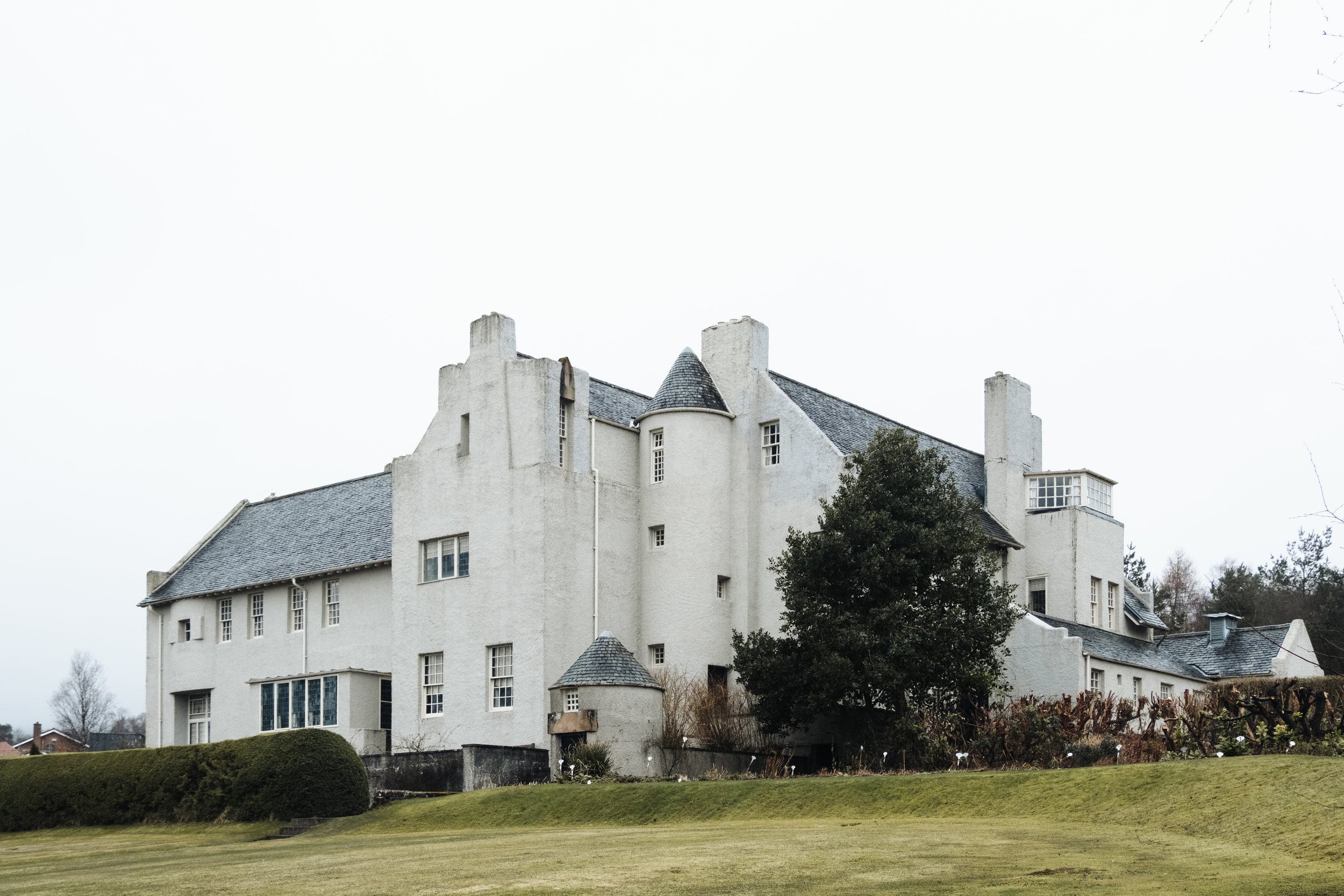 The Hill House by C.R.Mackintosh