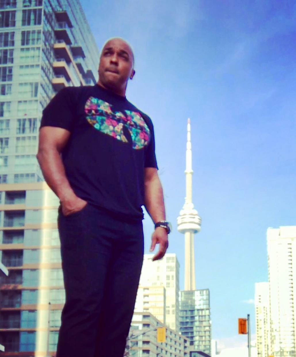 DJ Corey Young prior to Hosting and Spinning a private party in the city of Toronto Canada