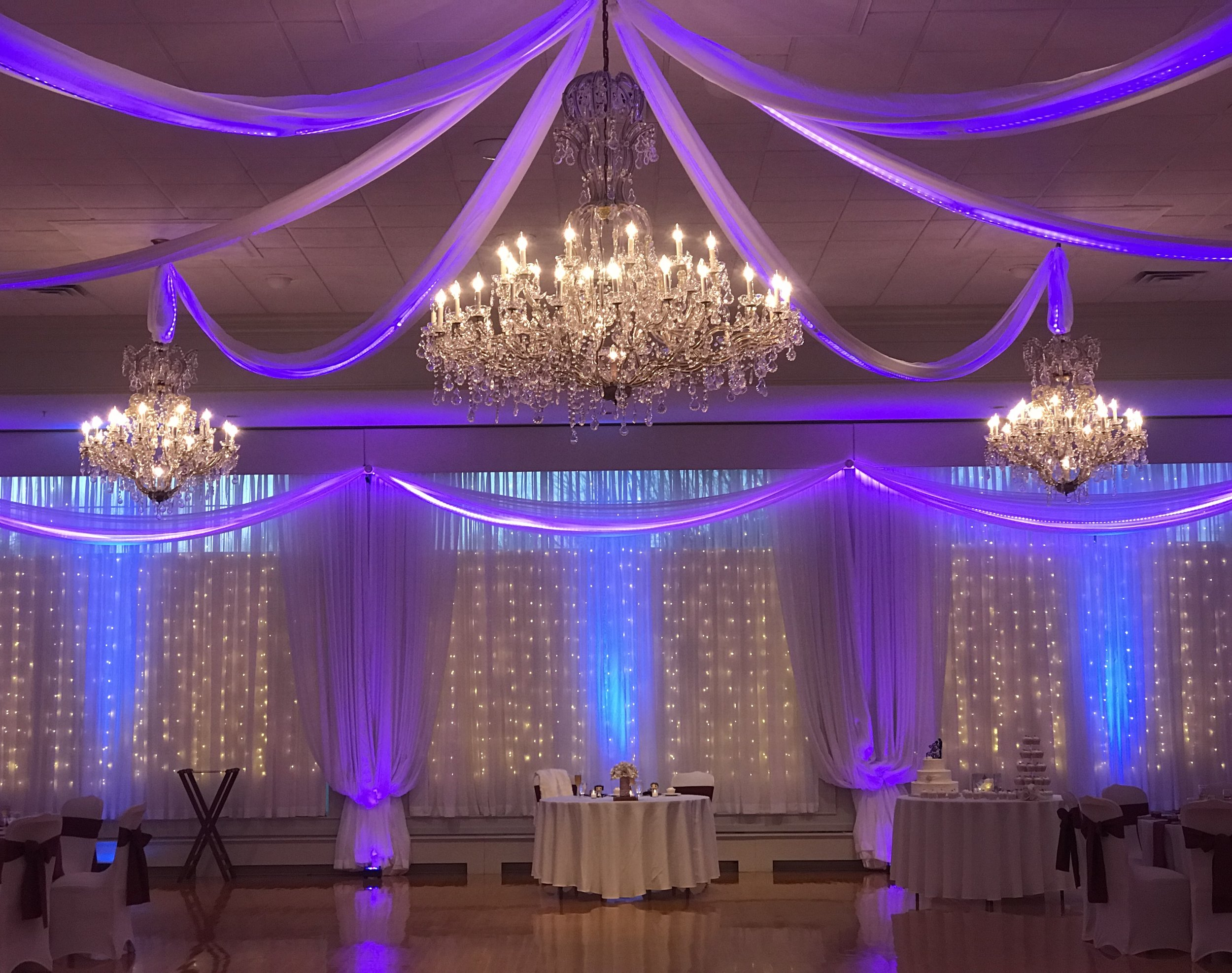 Wireless LED Uplighting by DJ Corey Young