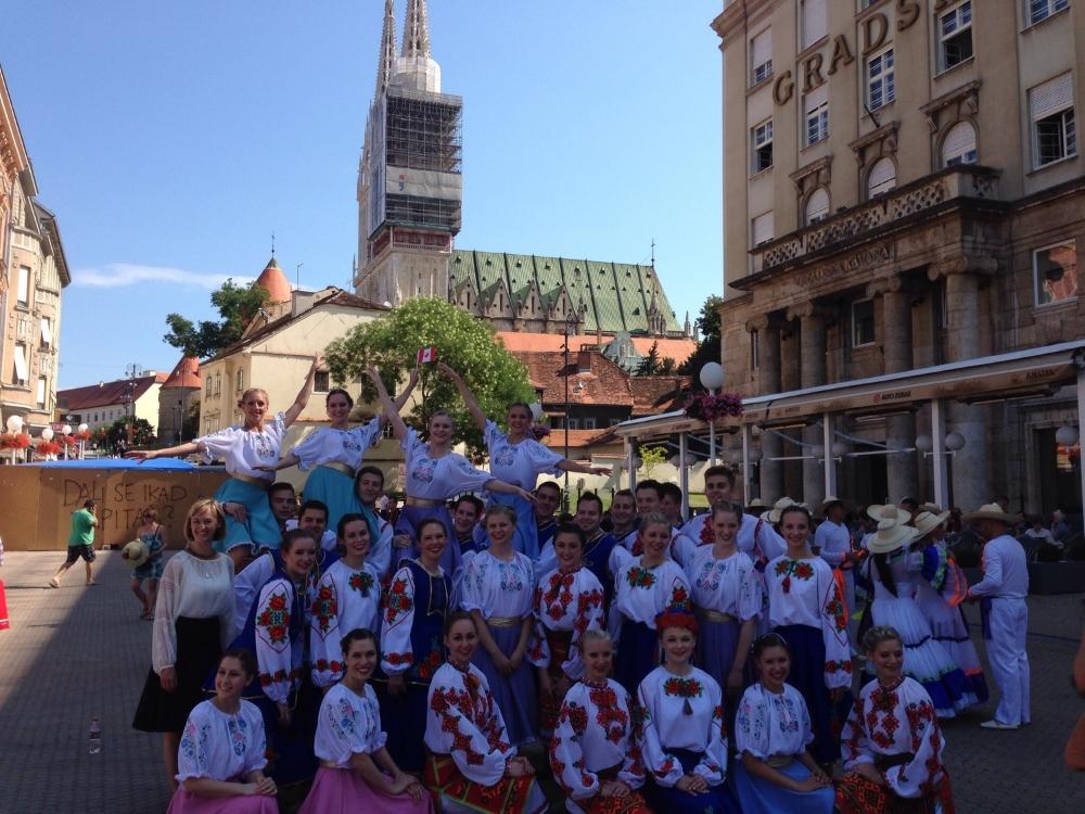 Viter in Zagreb this morning.