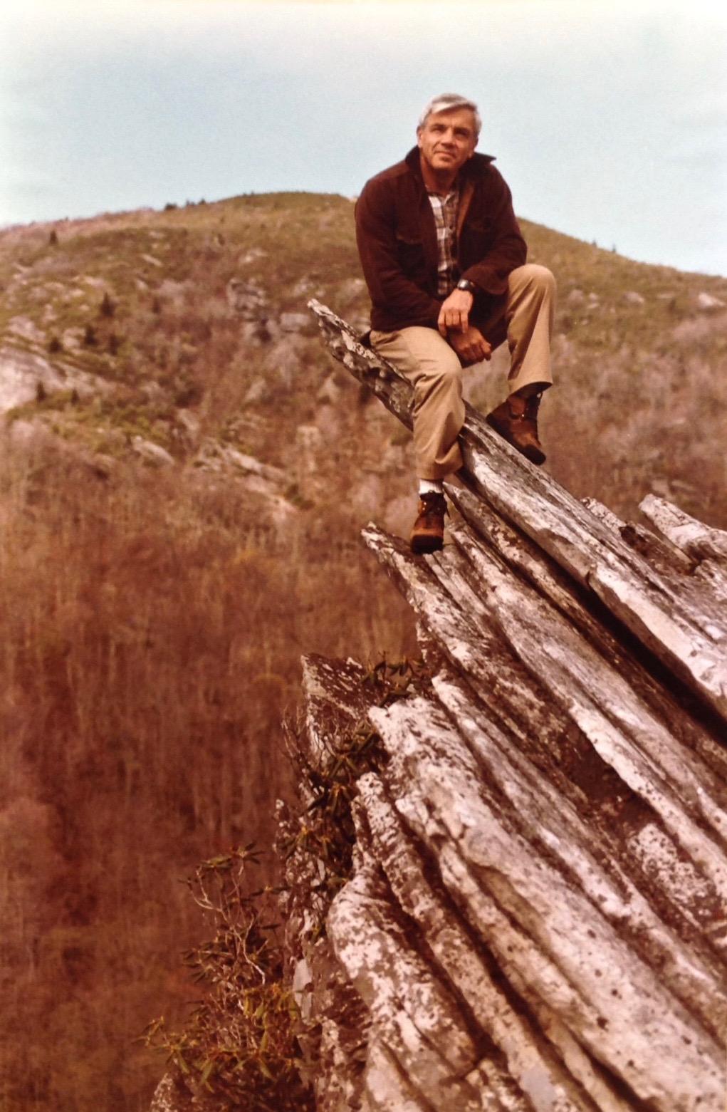 Eckess on Grandfather Mountain