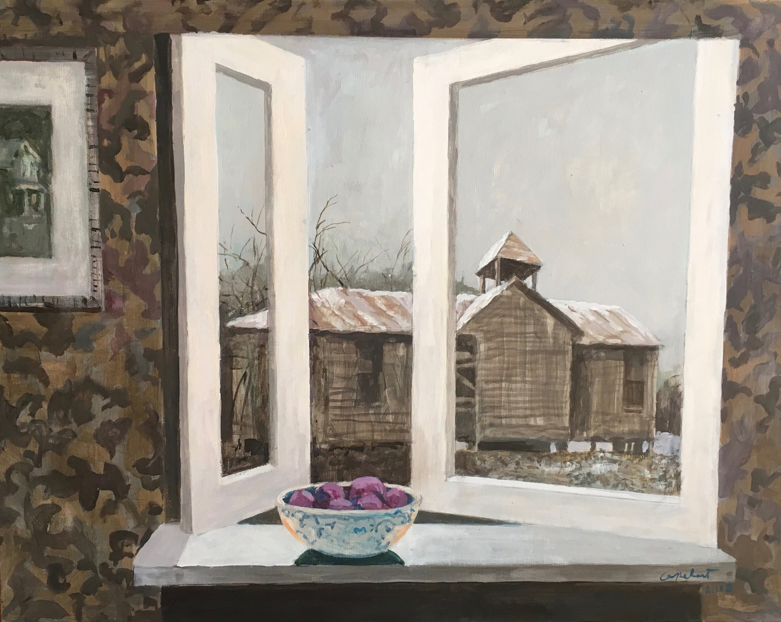 Winter Plums, Noyes Capehart