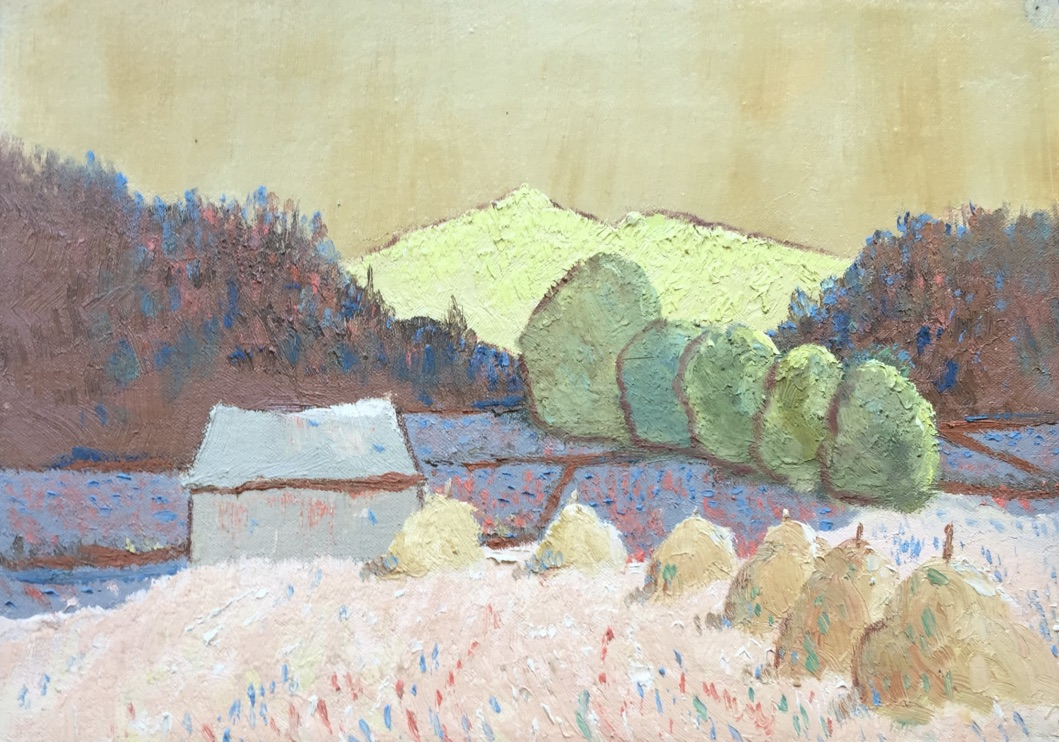 Hay Stacks  SOLD