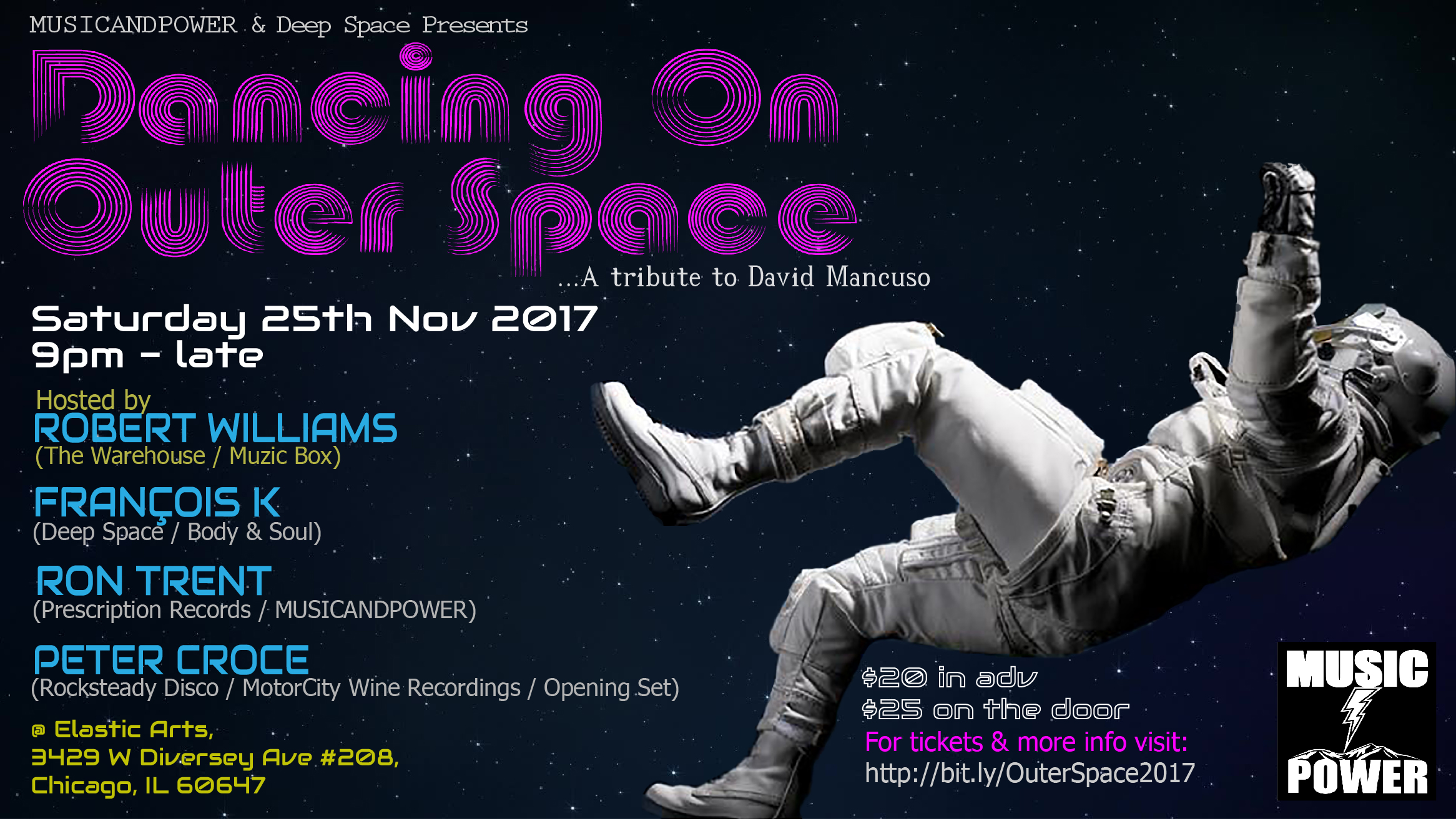 Dancing On Outer Space Flyer