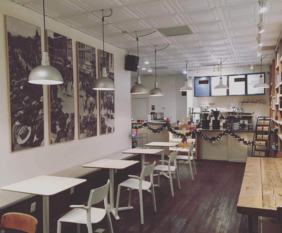 Muletown Coffee Artwork Installation
