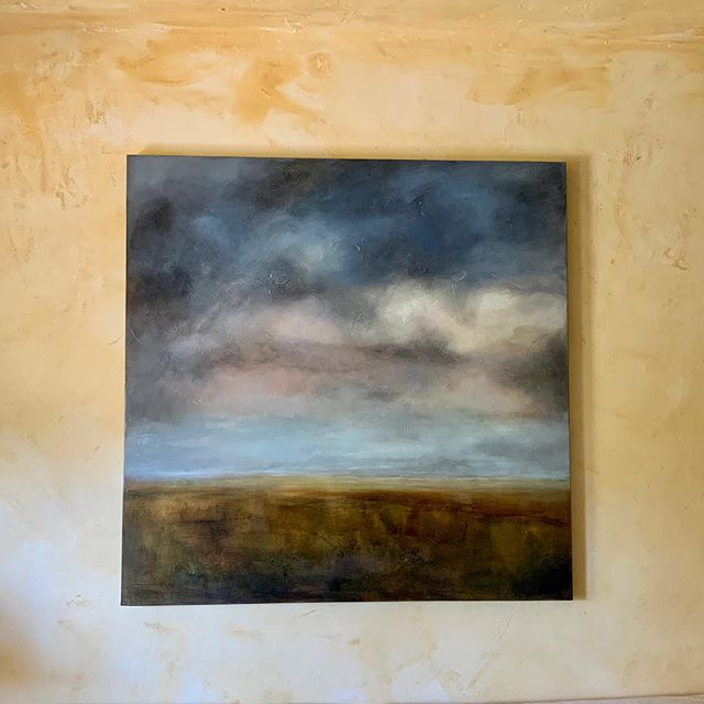 American West series,  Big Sky, installed today #longview #intothewest #landandsky #emptyland #pristinewilderness
