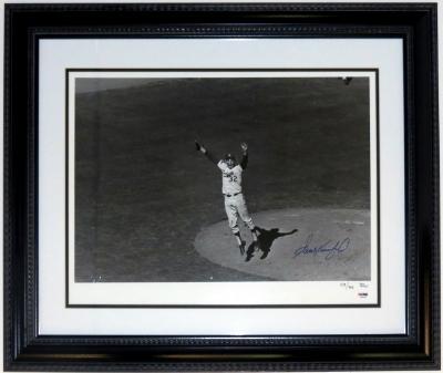 Sandy Koufax World Series 16x20 Photograph