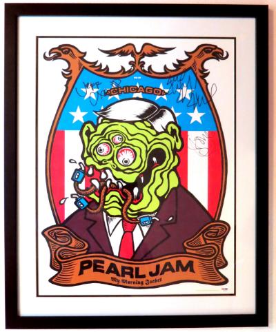 Pearl Jam Tour Poster