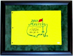 faldo masters pin flag framed.JPG