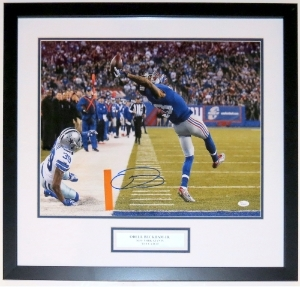 Odell Beckham Jr. Signed New York Giants The Catch 16x20 Photo - JSA COA Authenticated - Professionally Framed