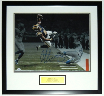 Todd Gurley Signed Rams 16x20 Photo - PSA DNA COA Authenticated - Professionally Framed