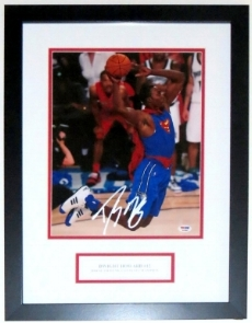 Dwight Howard Signed Slam Dunk Contest 11x14 Photo - PSA DNA COA Authenticated - Professionally Framed & Plate