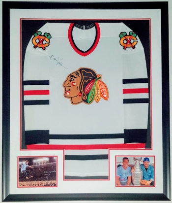 Eddie Vedder Signed Jersey & Pearl Jam Photo - Beckett Authenticated COA - Professionally Framed 34x42