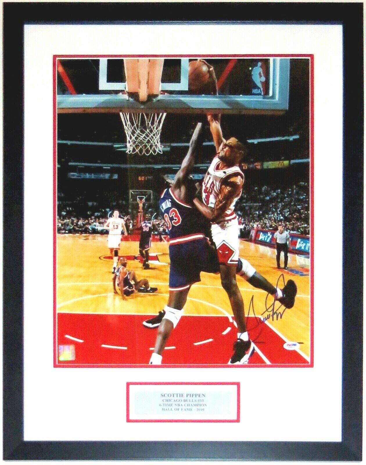 418f8c07964 Scottie Pippen 1994 NBA Playoffs 16x20 Photo PSA DNA COA Authenticated -  Professionally Framed &