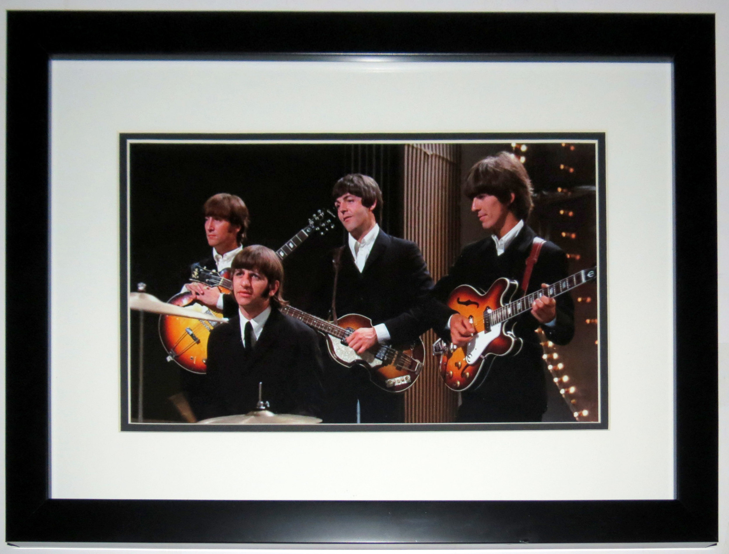 The Beatles Band 8x12 Photo - Professionally Framed