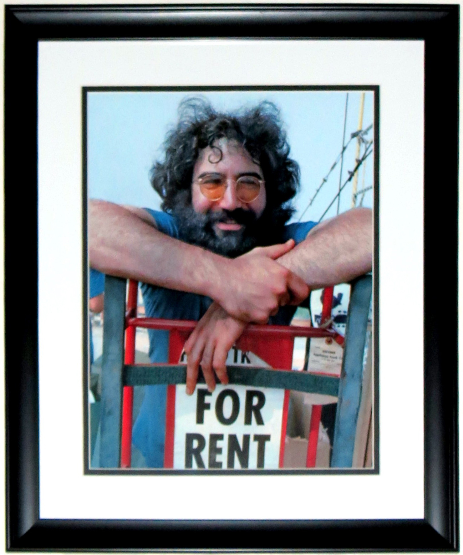 Jerry Garcia Grateful Dead Woodstock 1969 11x14 Photo - Professionally Framed