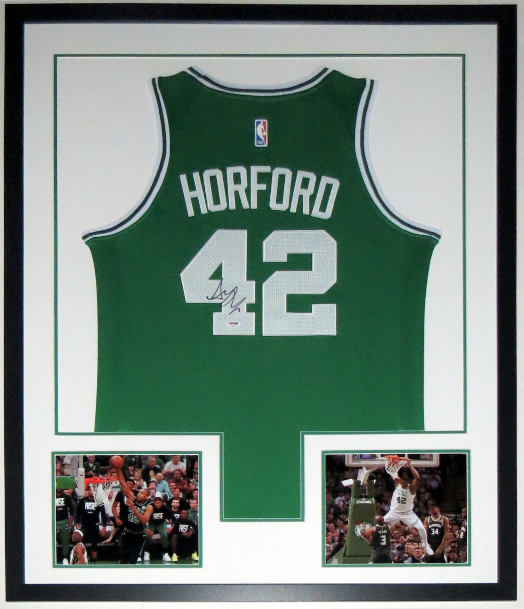 422a9745c Al Horford Signed Boston Celtics Jersey - PSA DNA COA Authenticated -  Professionally Framed  amp