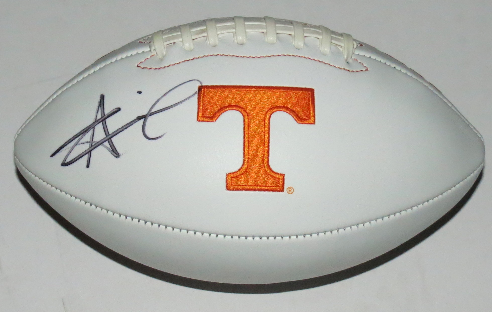 Alvin Kamara Signed Tennessee Volunteers Football - Beckett Authentication Services COA Authenticated