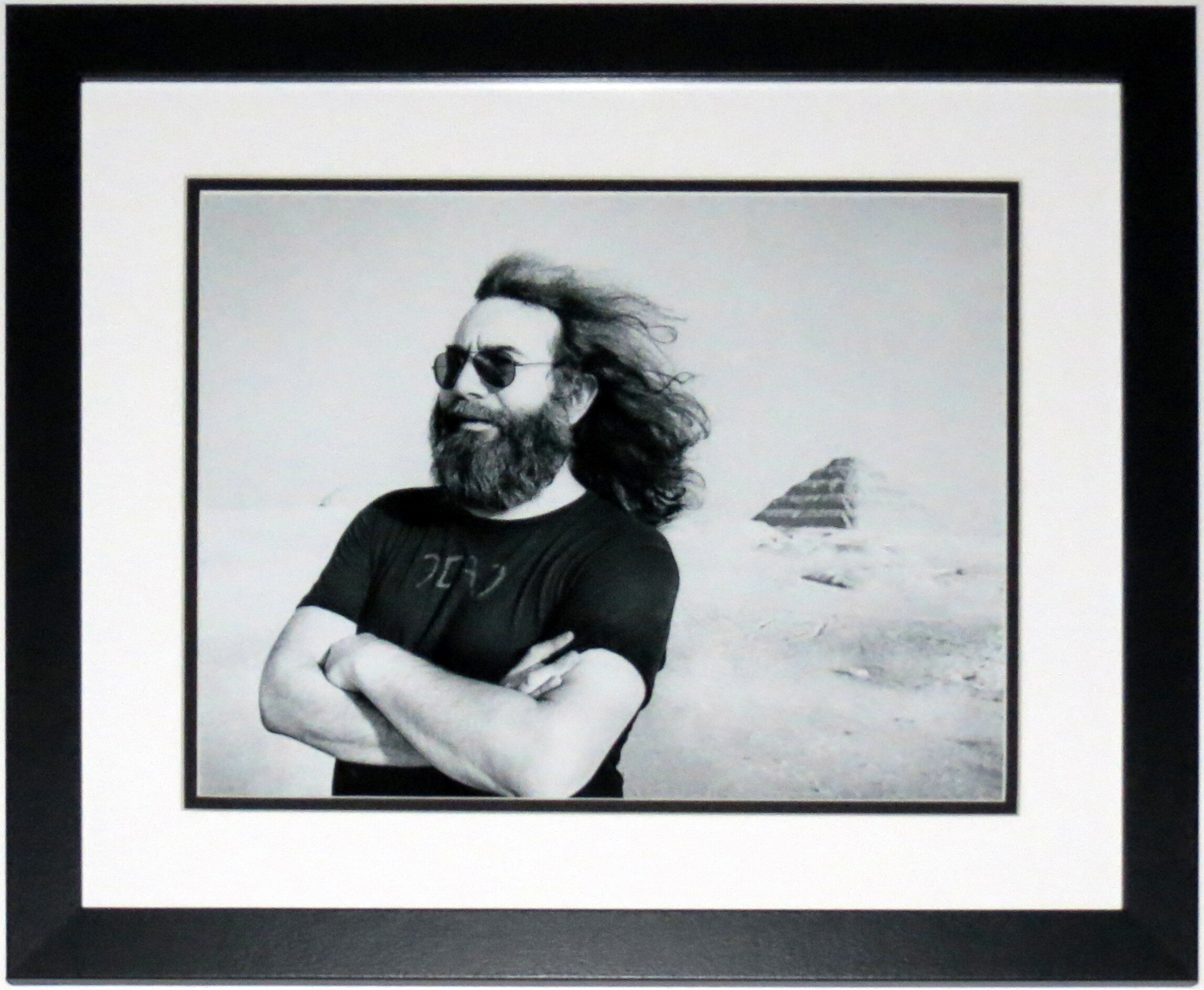 Jerry Garcia Grateful Dead Egypt 11x14 Photo - Professionally Framed