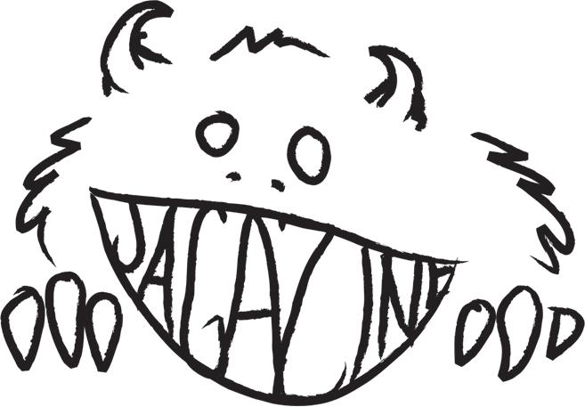 Jagazine Monster T-Shirt Design