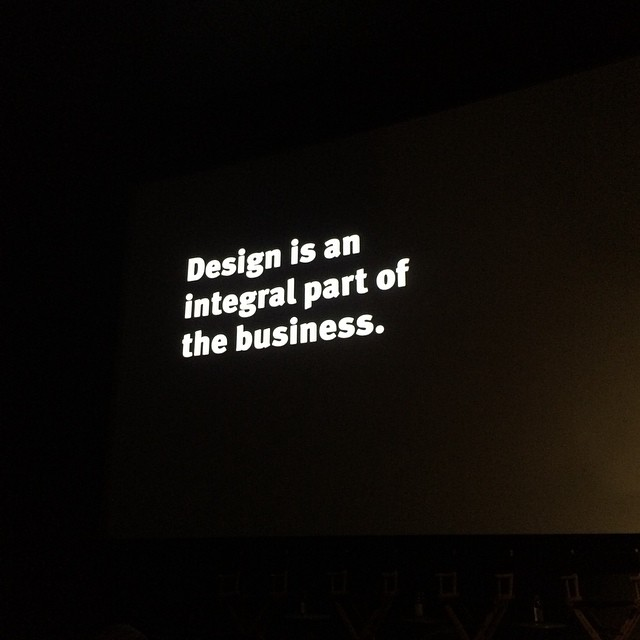 Ben Watson,  Executive Creative Director,  Herman Miller , quotes the legendary  George Nelson  on the vital symbiosis between design and business.