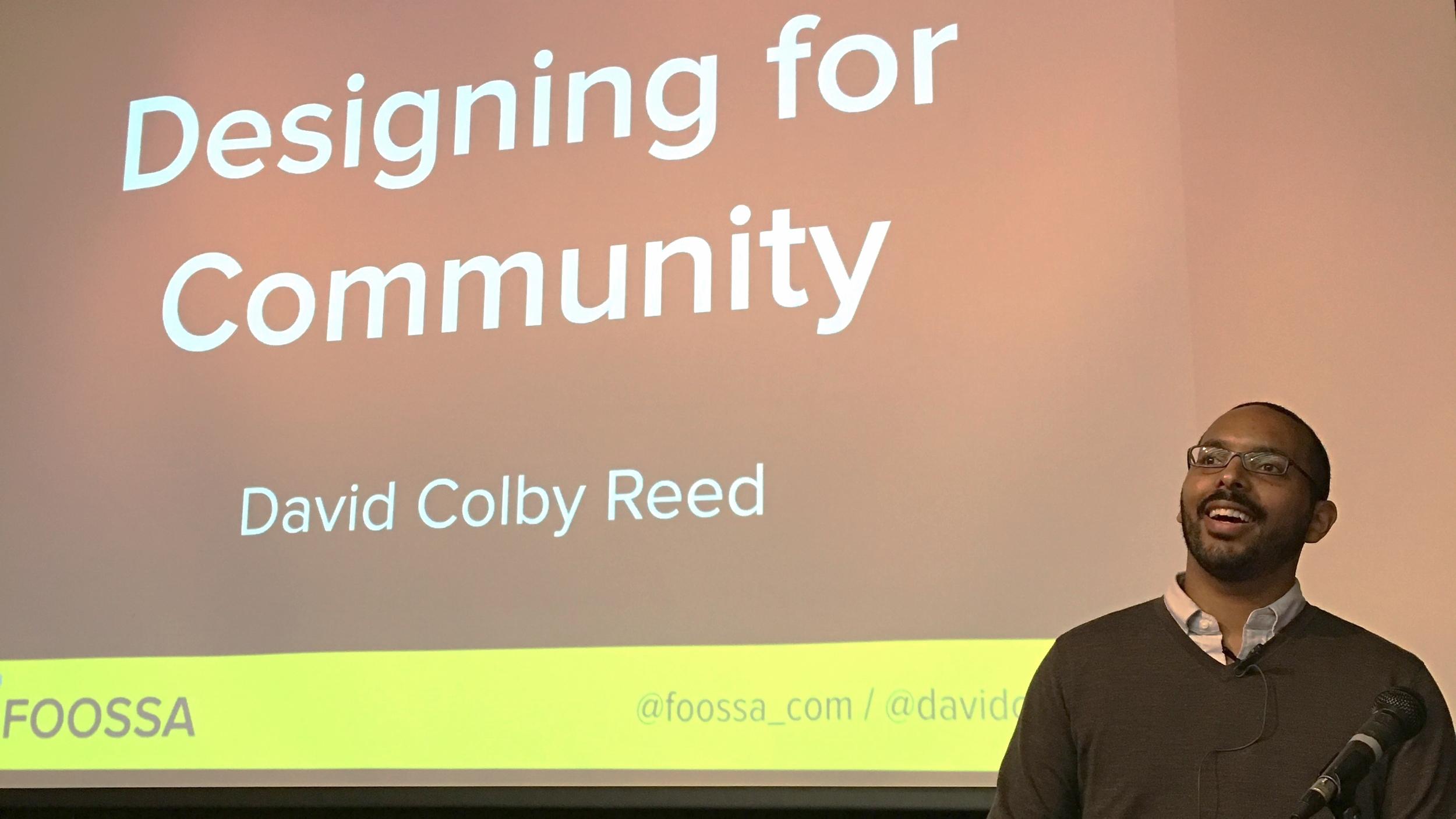 Design For Community presentation at Service Design International Conference 2015