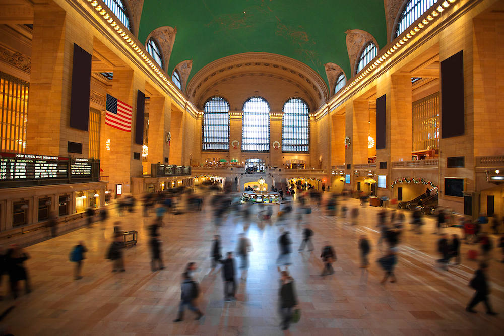 Grand Central by Aliaksei via Colourbox