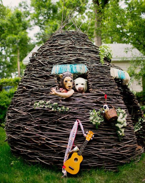 cheeriup thicket natural playhouse